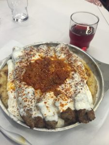 Yoghurt Kebab at O Thanasis