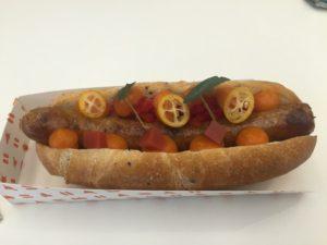 Paprika Sausage Hotdog @ Tolto