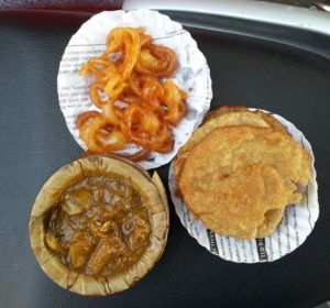 Kachori, Sabji and Jalebi Source: eatalish.com